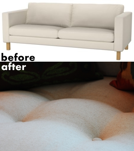 DIY for ikea sofa