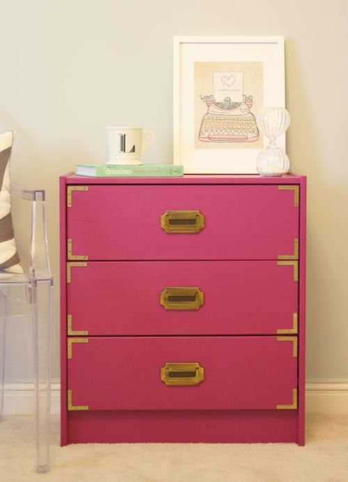 for chic sake ikea hack on rast chest