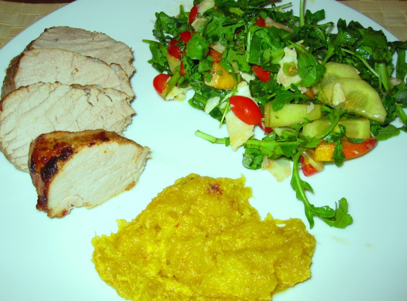 midweek meals, pork tenderloin