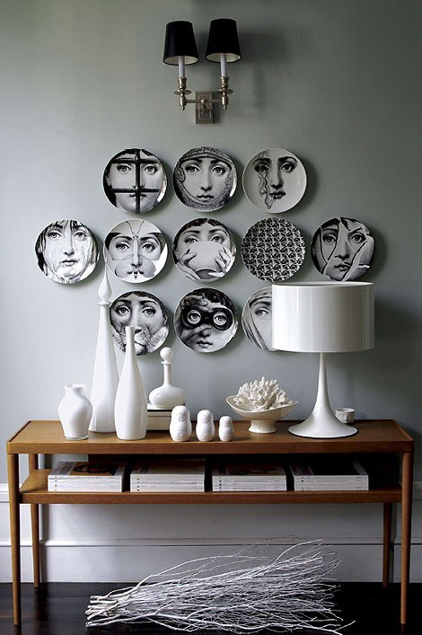 Fornasetti Plates available at Barney's and Fornasetti.com