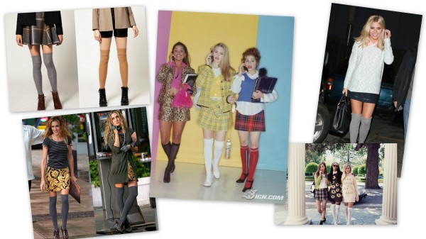 KNEE SOCK COLLAGE