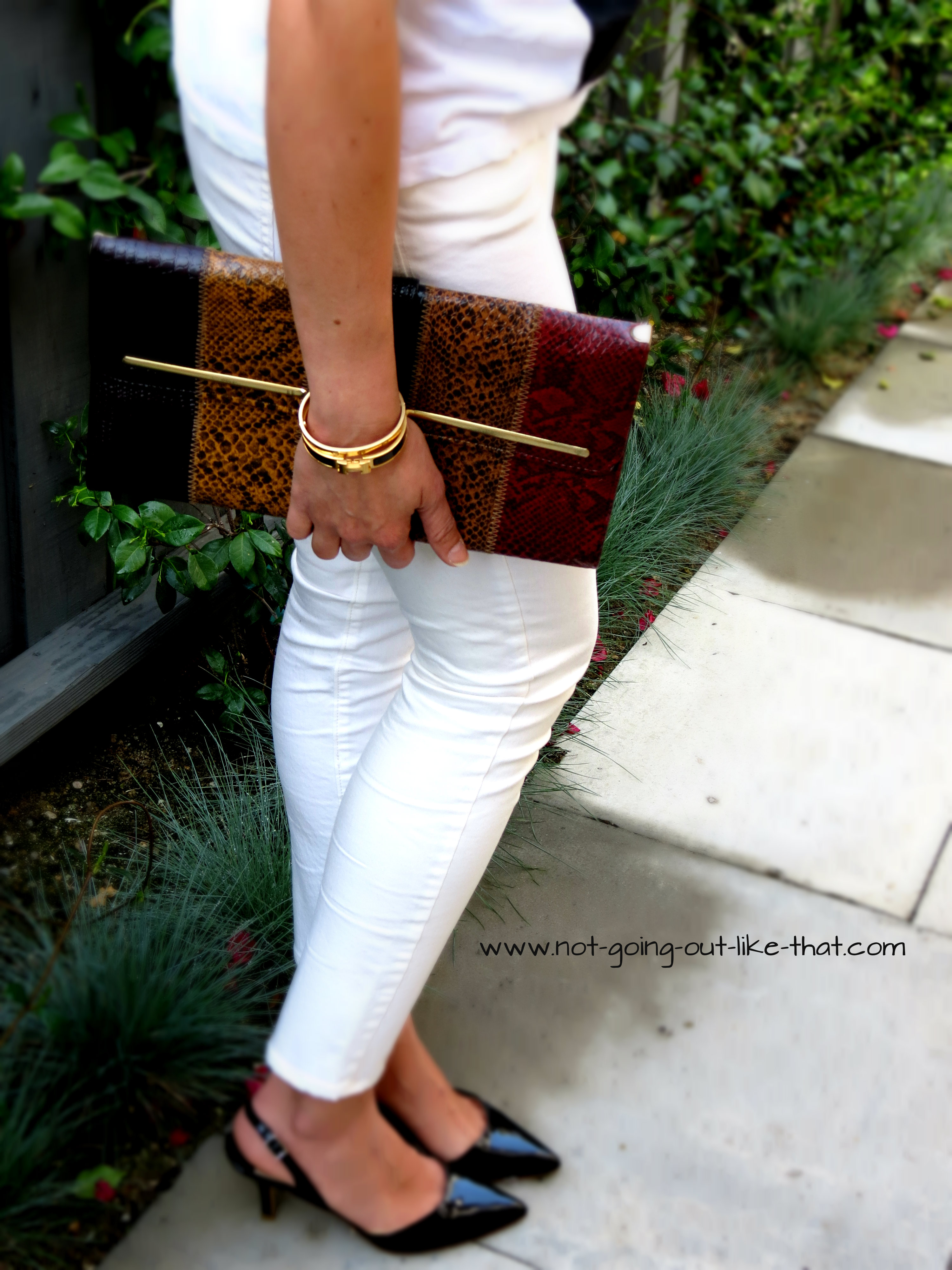 how to wear white skinny jeans | Not Going Out Like That
